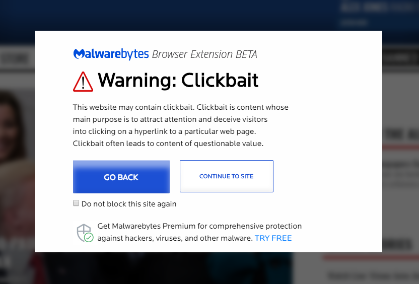 Mallwarebytes Browser Extension