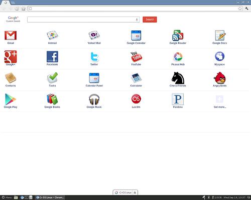Cr OS Linux