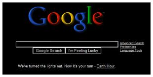Dark Google
