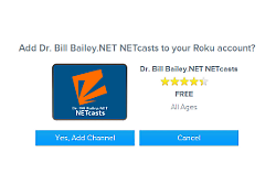 Dr. Bill Bailey.NET Roku Channel