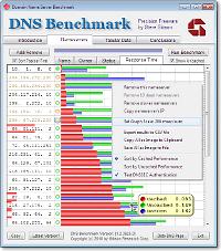 GRC DNS Benchmark Tool