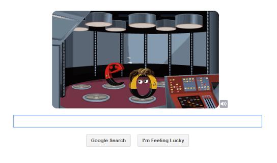 Star Trek Google Doodle #2