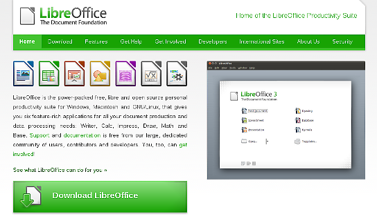 LibreOffice 3.5
