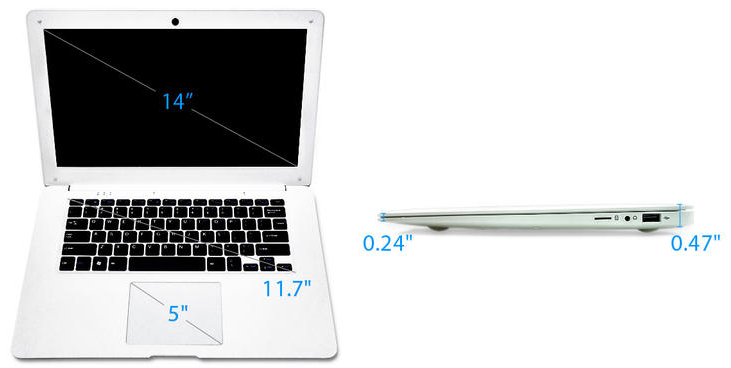 Pinebook Laptop
