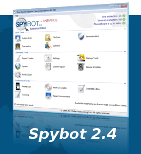 Spybot 2.4