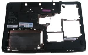 Acer Aspire 7520 notebook, bottom view