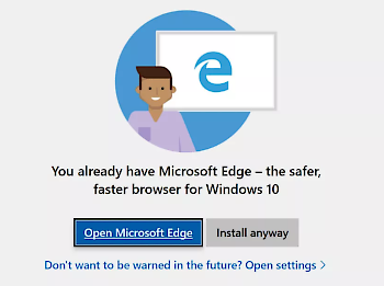 Edge Warning