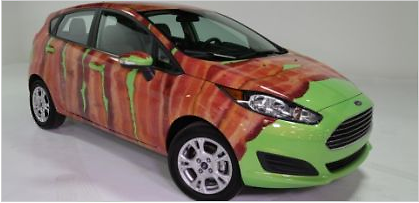 Ford Fiesta with Bacon!