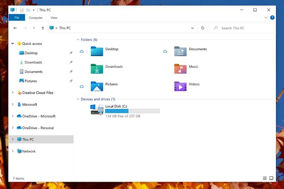 New Windows Icons