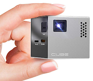 RIF6 CUBE Mini Projector