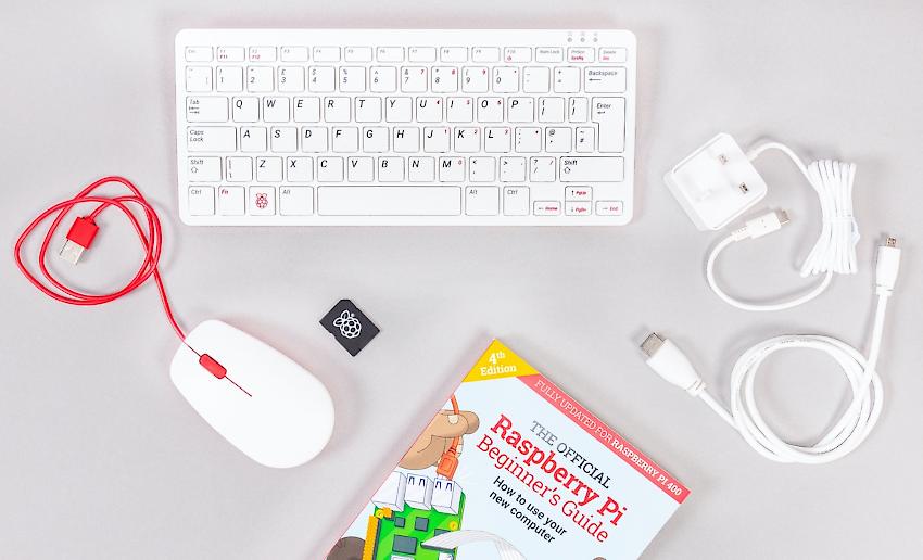 Raspberry Pi 400 Keyboard Computer
