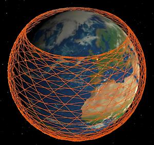 StarLink Satellite Cloud