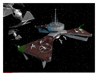 Star Wars Tie Fighter Game in Chrome